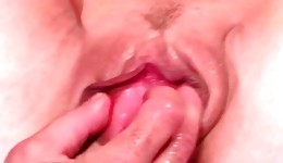 Hot blonde enjoys getting her pussy hole stretched out blowing a rod