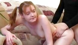 This perverse abdl wench is getting her pressed with a vulgar sinewy cock