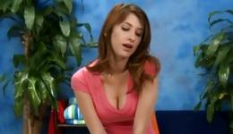 Watch on large amazing breasts of this stunning young bitch