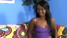 Check out this gorgeous dark-skinned girl who wants to bring sexual partner to orgasm