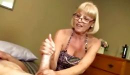 This blonde could not wait any more and began to please her excited friend